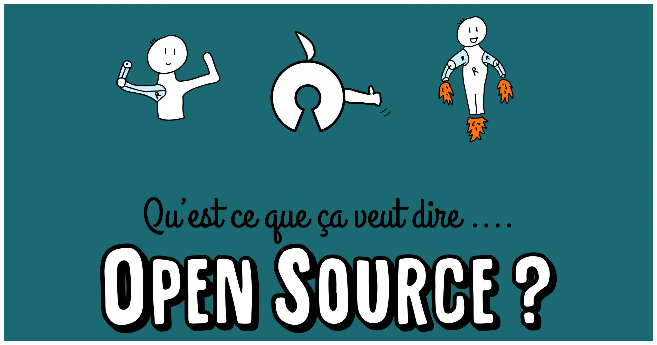 Open Source : qu'est ce que ça veut dire ? (BD)